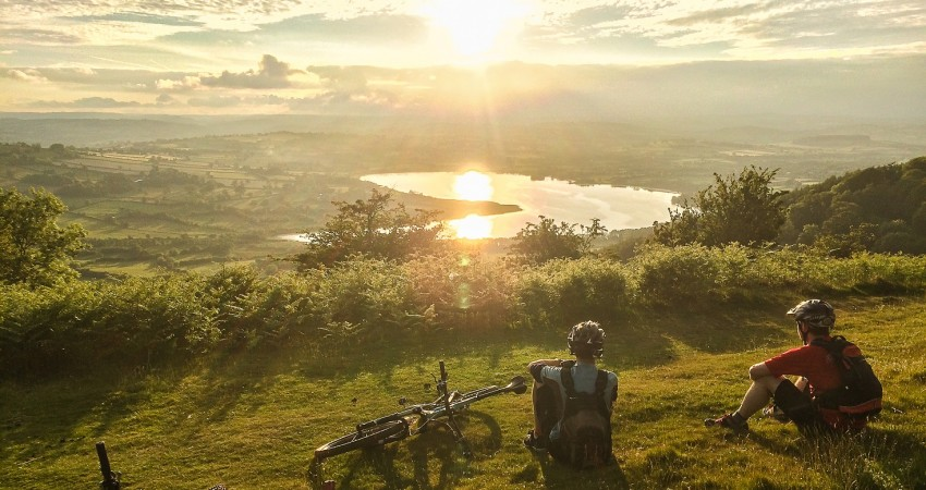 Visit the Brecon Beacons cyclists