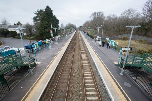 Gowerton train station
