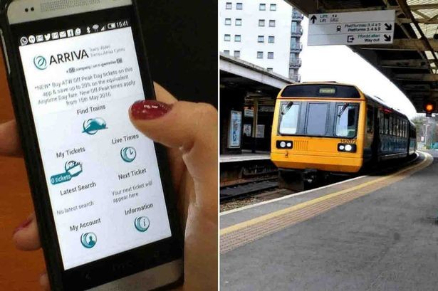 Arriva Trains Wales mobile ticket