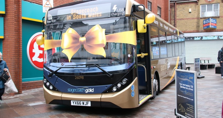 Stagecoach gold launch rhondda valley to cardiff