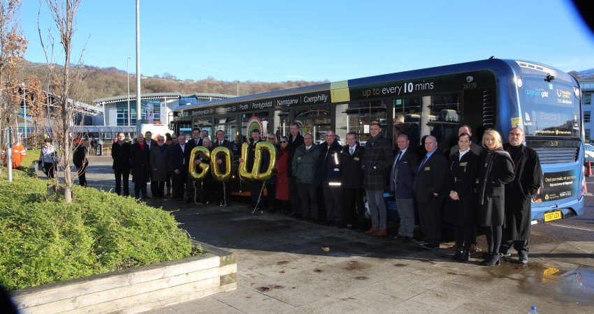 Stagecoach in South Wales goes for gold in Caerphilly and the Rhondda Valleys