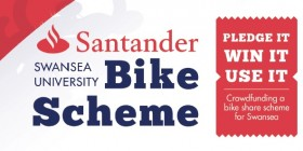 Santander Next Bike Scheme Swansea University